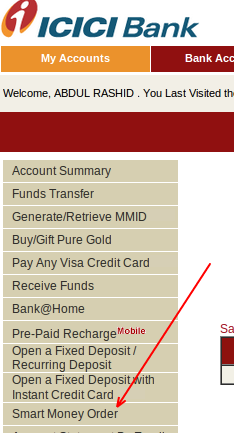 online money order bank of america