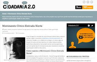 Entrevista para Cidadania20