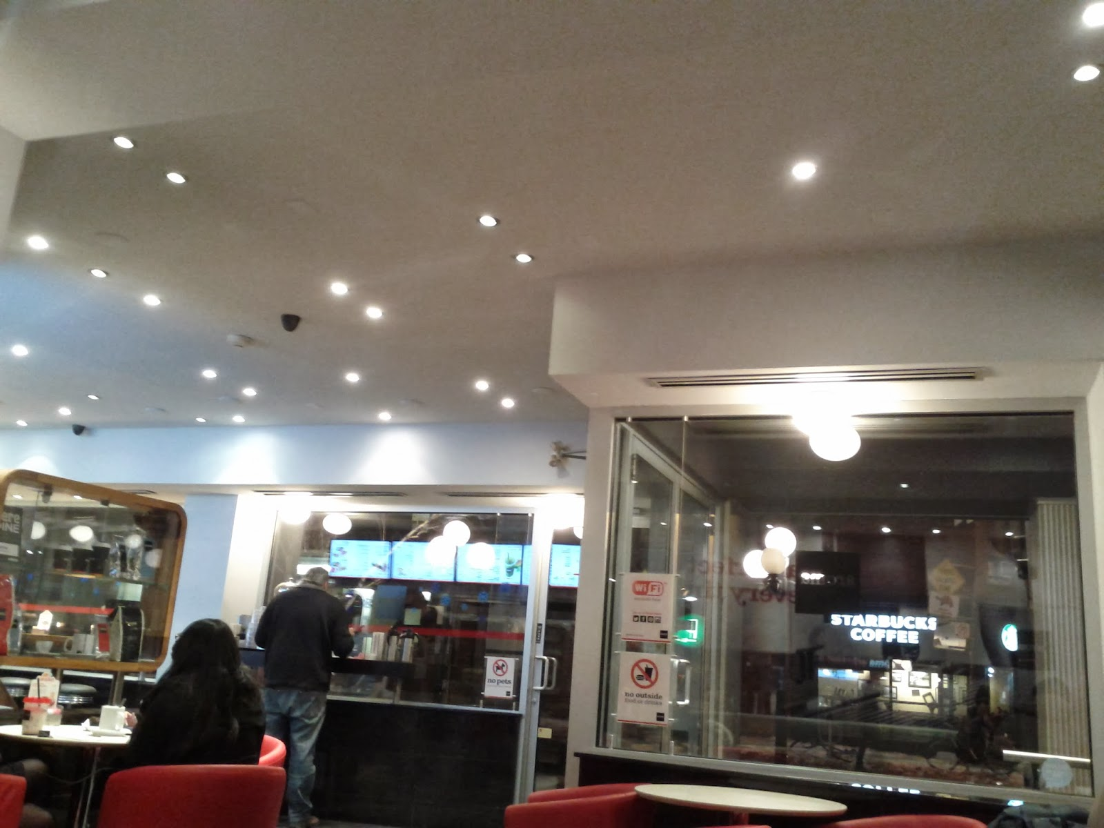 Travel Toronto Now Aroma Espresso Bar Renovated And More Bright And White At