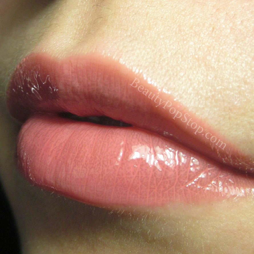 mac hoop lipglass swatch and review
