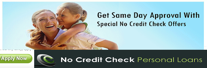 No Credit Check Personal Loans