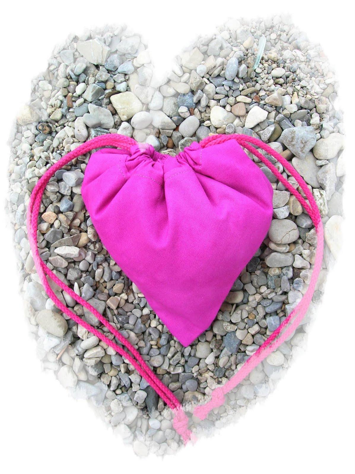 Federbärchen: Tasche mit Herz - Teil 1