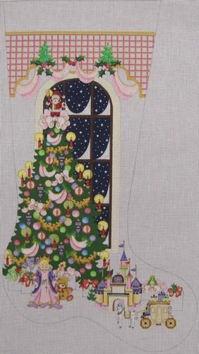 strictly christmas stocking - Strictly Christmas Needlepoint