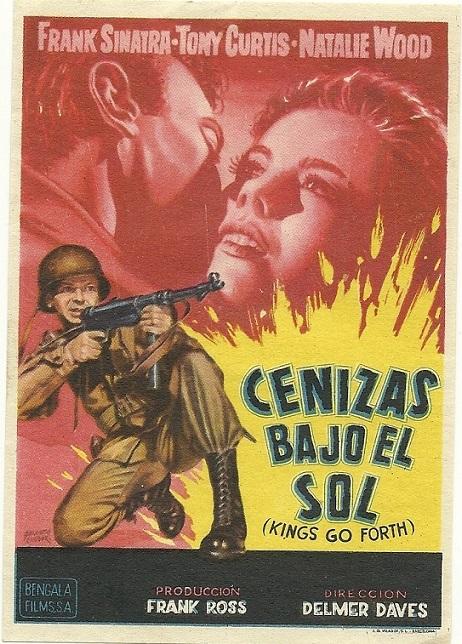 CENIZAS BAJO EL SOL (1958)