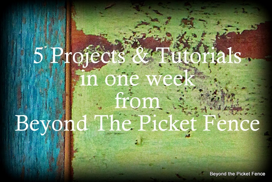 5 projects in one week project 2 reclaimed wood plant shelf http://bec4-beyondthepicketfence.blogspot.com/2014/05/5-projects-in-week-project-2-reclaimed.html