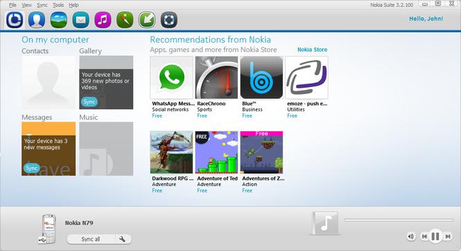 تحميل برنامج نوكيا سويت 2015 سوفت وير لنقل الملفات بين اجهزة نوكيا والكمبيوتر Download Nokia PC Suite 7
