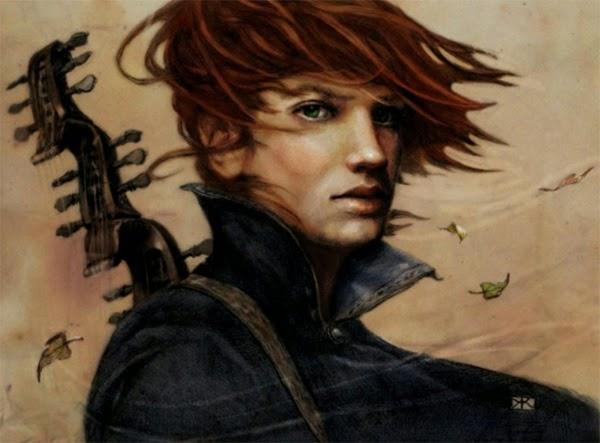 """Kvothe, el protagonista de la saga """"Crónica del asesino de reyes"""" de Patrick Rothfuss"""