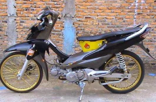 Modifikasi Motor Honda Fit X