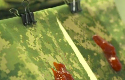Saintis Tentera cipta pakaian seragam bersih sendiri