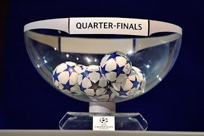 Cuartos de Final Champions 2012 - 2013