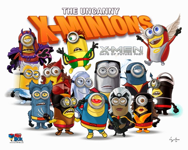 Minions as X-Men