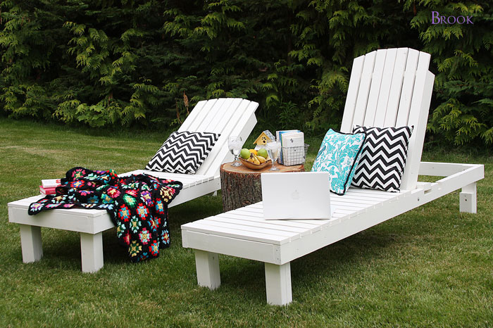This DIY House Easy DIY Outdoor Lounge Chairs & Pinterest Challenge Sum