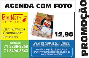 Agenda Personalizada com foto promoção 12,90 até sábado!