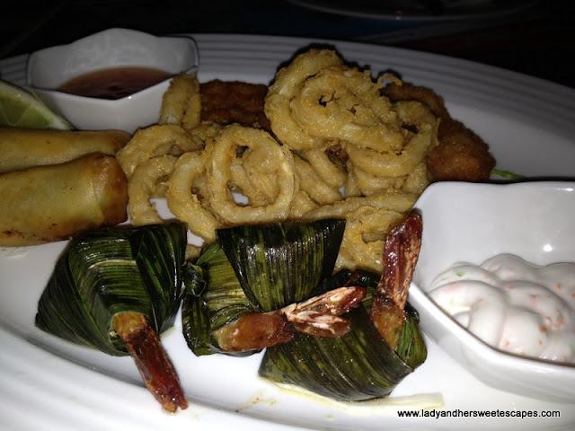 Seafood Started Platter