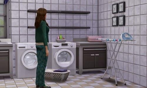 sims 4 washing machine