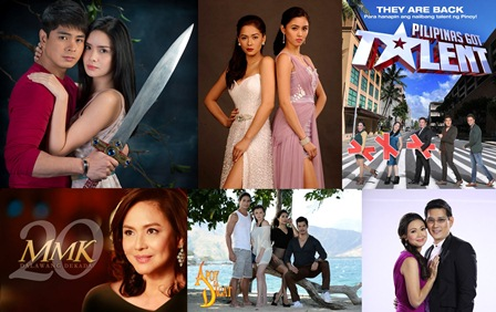 ABS-CBN Clinches 12 out of 15 Top Programs Nationwide in February 2013