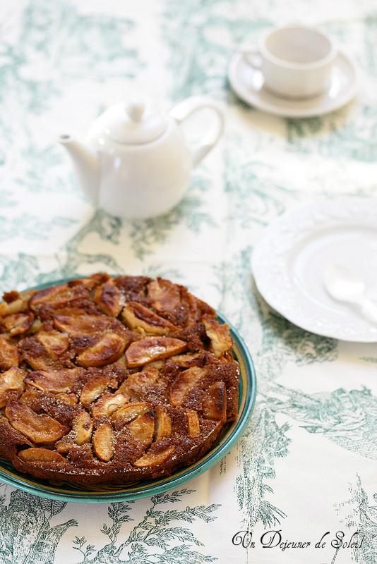Gâteau moelleux pommes (torta di mele)