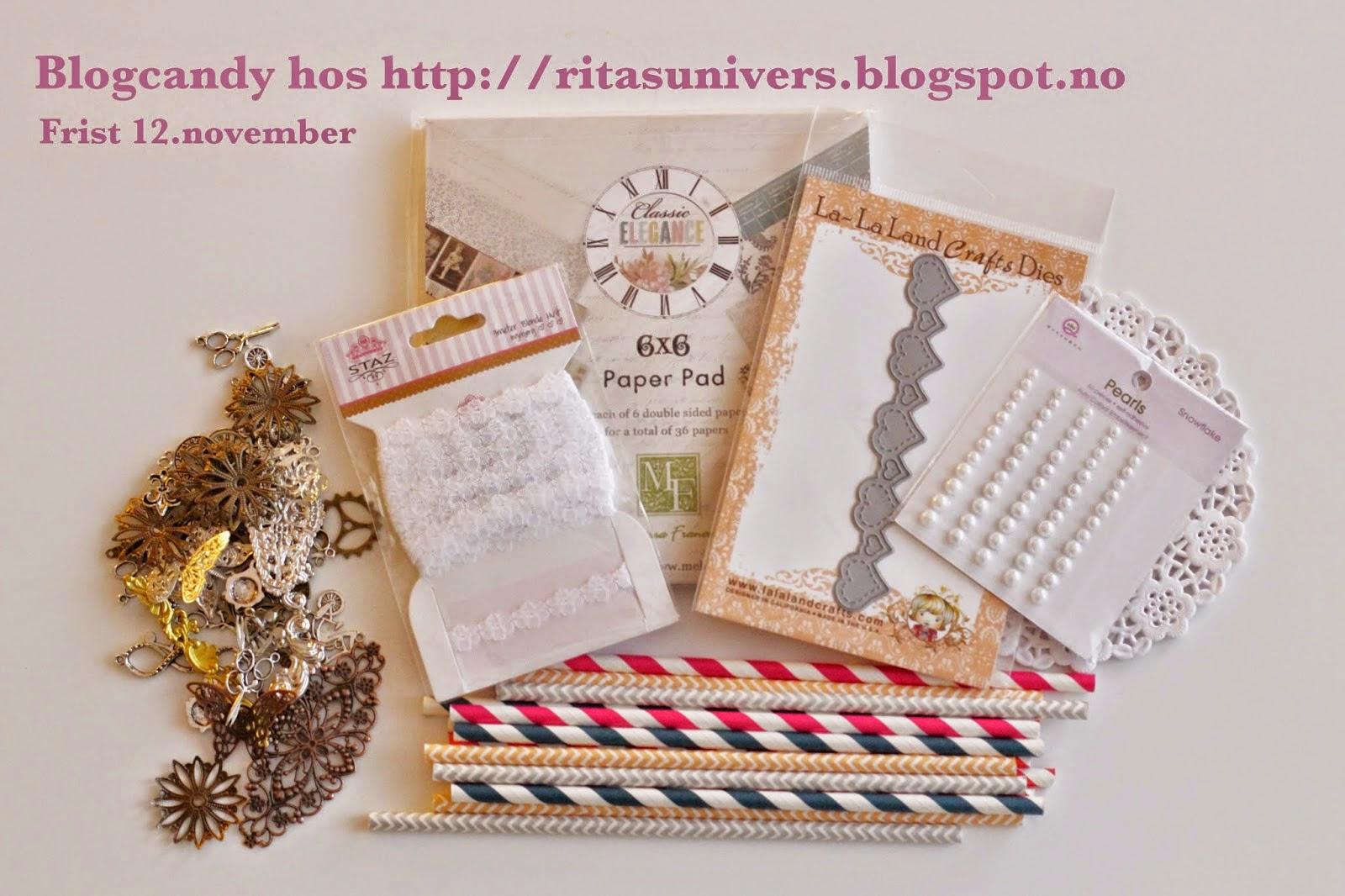 Blogg Candy hos Rita