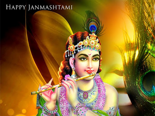 happy janmashtami wallpapers