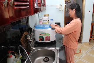 Sử dụng máy lọc nước ozone
