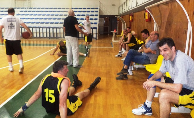 Εύκολες επικρατήσεις για Αρη και Μακαμπή στο 20ο πρωτάθλημα βετεράνων Θεσσαλονίκης-Φωτορεπορτάζ