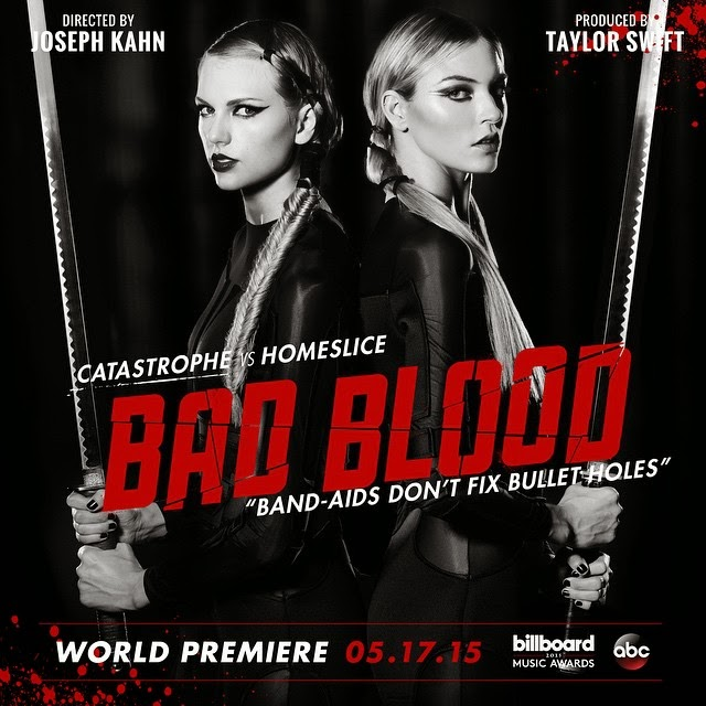 [VIDEO PREMIERE] Bad Blood (Taylor Swift)
