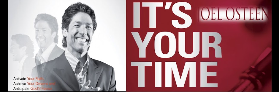 Joel Osteen: It's Your Time book reading