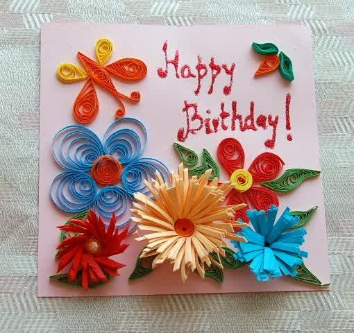 Quilling-happy-birthday