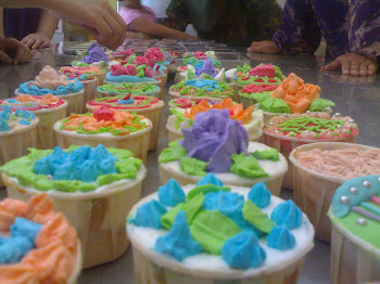 demo cupcake(in my clas)