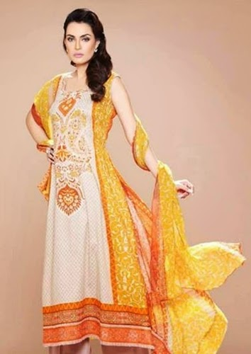 Nadia Hussain Eid Collection 2014
