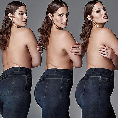 Plus-size model Ashley Graham told about how to love your body ...