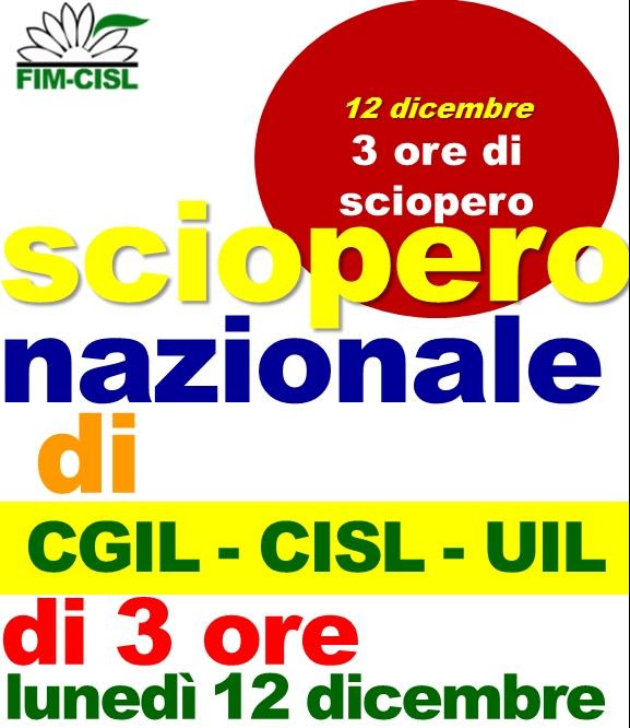 treni italia sciopero 12 dicembre