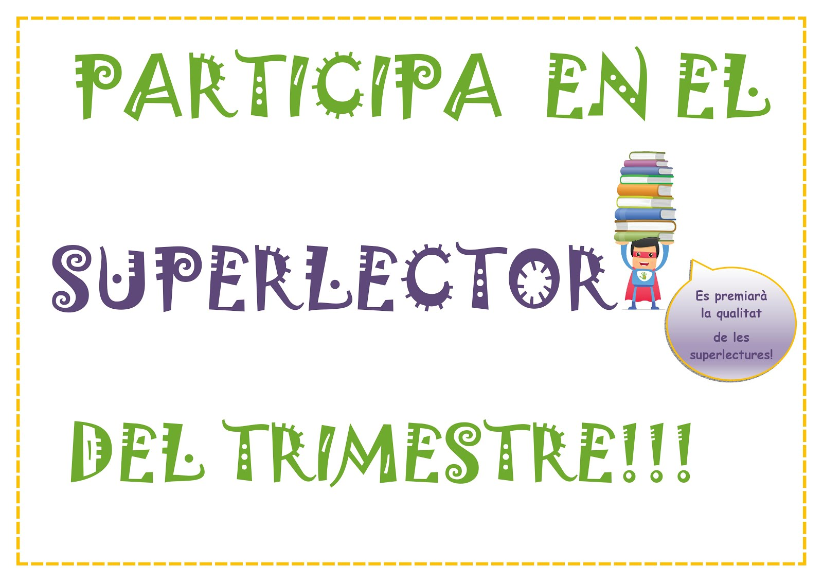 El Superlector del Trimestre