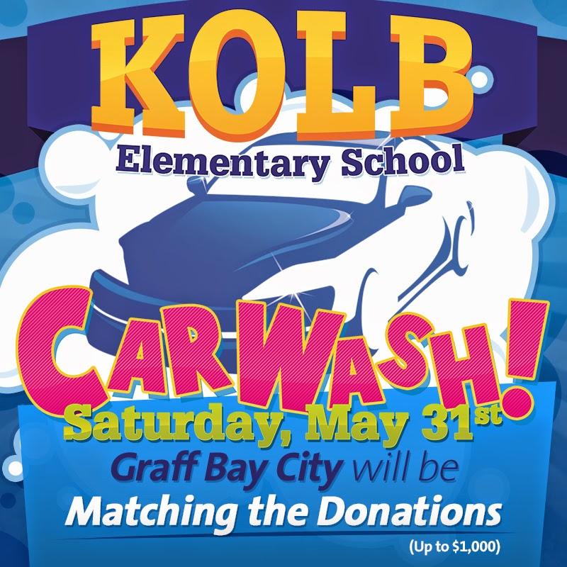 KOLB Elementary Car Wash at Graff Bay City