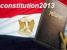 The constitution,  Constitution of 2012, Constitution of, the Egyptian,