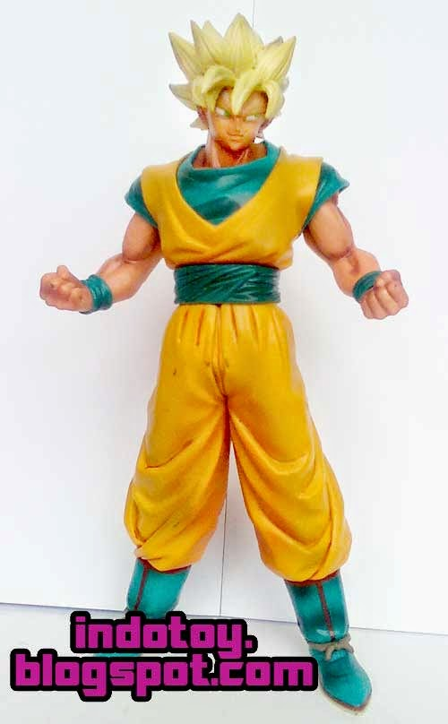 Jual Action Figure Dragon Ball Goku Super Saiyan PVC