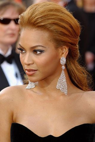 Dream Wedding Girls: Beyonce Wears Ombre Hair at Super ...