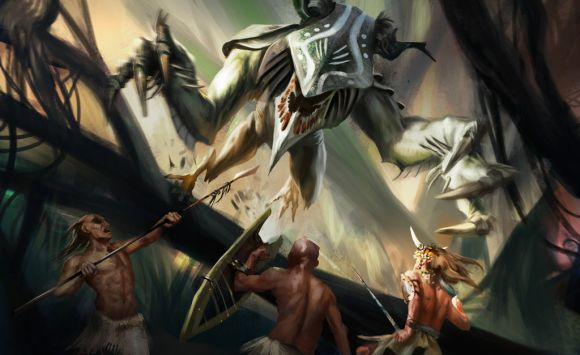 Mateusz Ozminski artozi-deviantart ilustrações fantasia