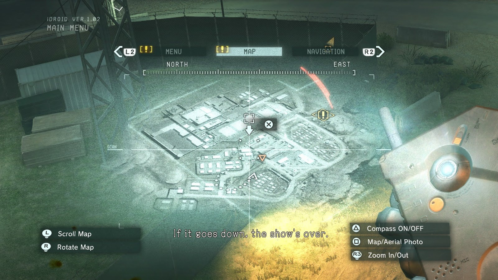 Metal Gear Solid 5 Ground Zeroes Map