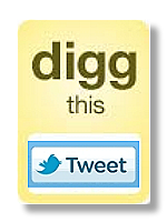 Artist's Digg Tweet Icon, Click to digg; thanks for the seo juice