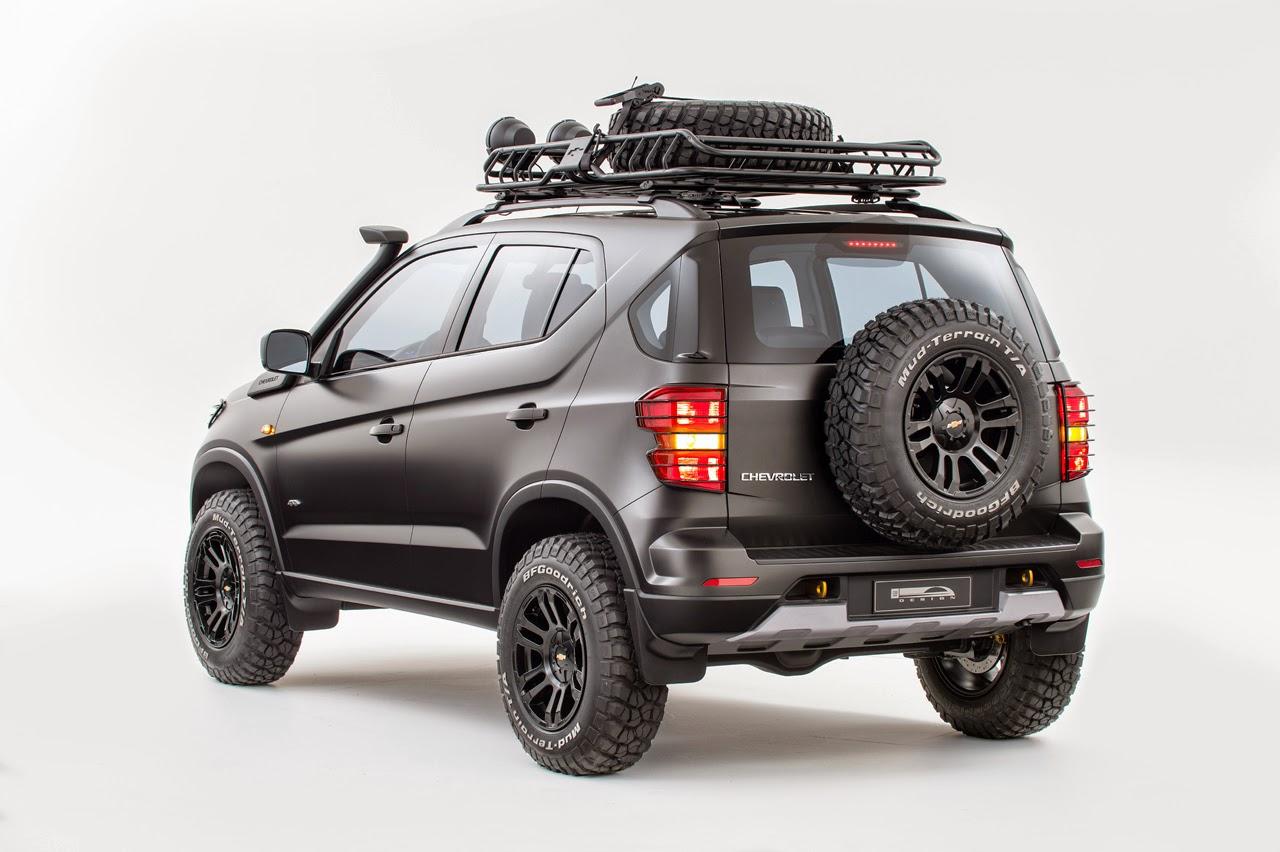 Chevrolet Niva Concept rear