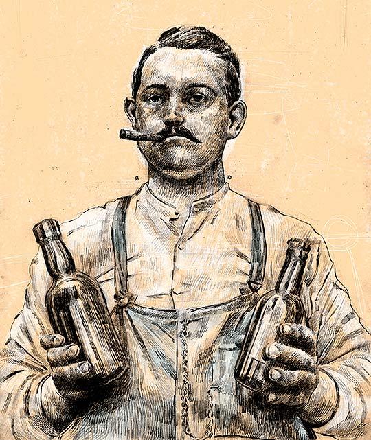 Ilustración de Santiago Guevara