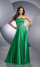 Elegant Green Prom Dress