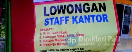 Lowongan Kerja Staff Kantor di Bimbel Dewantara Pati
