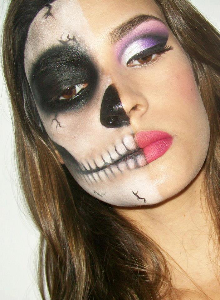 Mi mundo espa ol por rita condor nuevo modelo de pintura for Pinturas de cara para halloween
