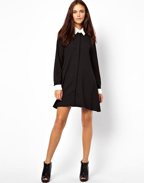 swing shirt dress