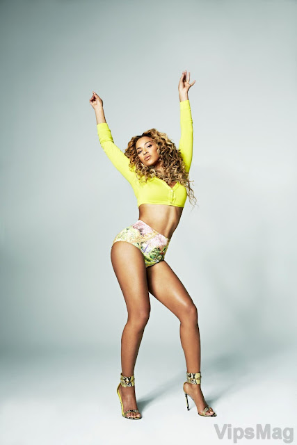 Beyonce Knowles sexy photoshoot for Shape MagazineApril 2013 - pic 1