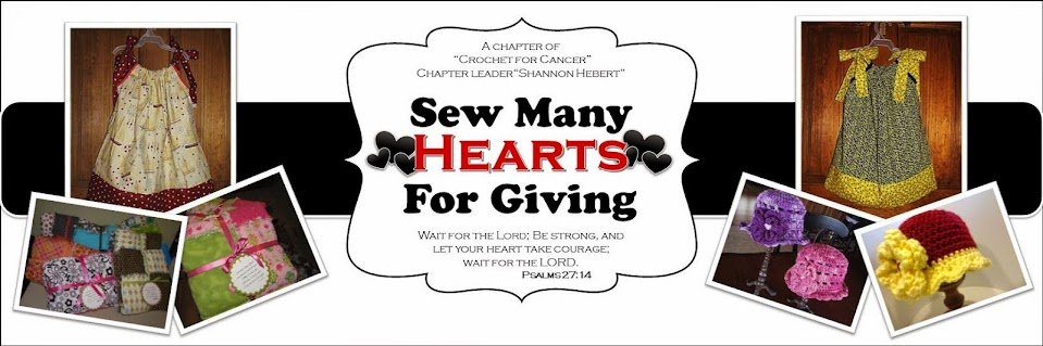 Sew Many Hearts for Giving