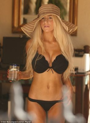 Courtney Stodden Slip