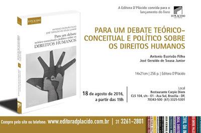 """Livro """"Para um debate teórico-conceitual e político sobre os Direitos Humanos"""""""